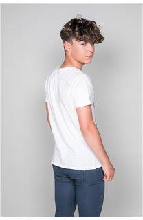 T-Shirt T-SHIRT JACKY Garçon W19152B (47270) - DEELUXE