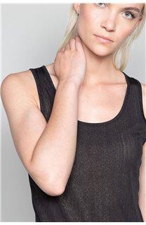 Débardeur T-SHIRT SHINY Femme W18164W (47428) - DEELUXE