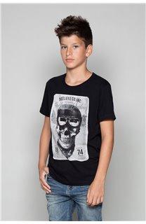 T-Shirt CLEM Garçon P196B (47433) - DEELUXE