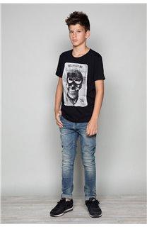 T-Shirt CLEM Garçon P196B (47434) - DEELUXE