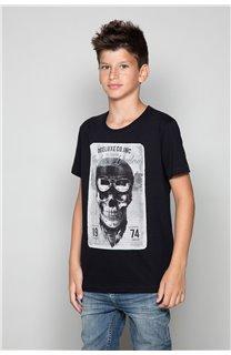 T-Shirt CLEM Garçon P196B (47435) - DEELUXE