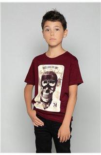 T-Shirt CLEM Garçon P196B (47443) - DEELUXE