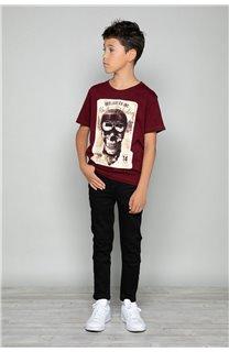 T-Shirt CLEM Garçon P196B (47444) - DEELUXE