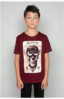T-Shirt CLEM Garçon P196B (47445) - DEELUXE