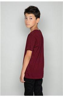 T-Shirt CLEM Garçon P196B (47446) - DEELUXE