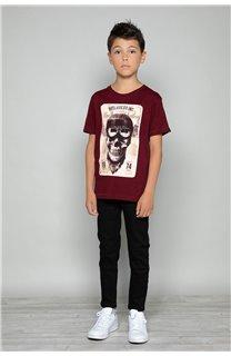 T-Shirt CLEM Garçon P196B (47447) - DEELUXE