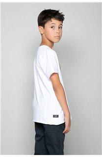 T-Shirt T-Shirt LIONMAN Garçon W18135B (47454) - DEELUXE
