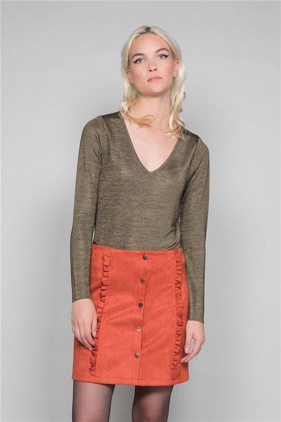 T-Shirt ABY Femme W19103W (47475) - DEELUXE
