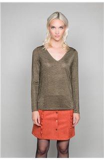 T-Shirt T-Shirt ABY Femme W19103W (47477) - DEELUXE