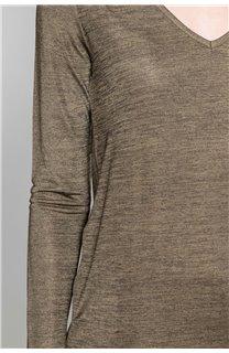 T-Shirt T-Shirt ABY Femme W19103W (47479) - DEELUXE
