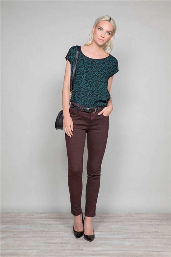 T-Shirt TEHANA Femme W19104W (47480) - DEELUXE