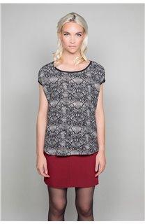 T-Shirt T-Shirt LUCINDA Femme W19105W (47492) - DEELUXE