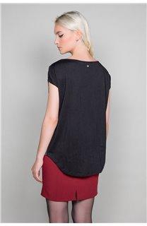 T-Shirt T-Shirt LUCINDA Femme W19105W (47493) - DEELUXE