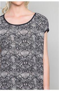 T-Shirt T-Shirt LUCINDA Femme W19105W (47494) - DEELUXE