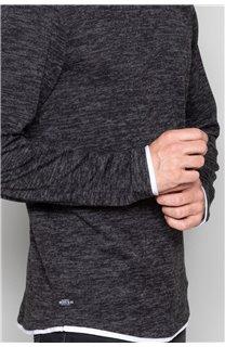 T-Shirt T-SHIRT MOHANSON Homme W19173 (47529) - DEELUXE