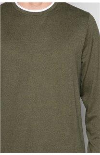 T-Shirt T-SHIRT MOHANSON Homme W19173 (47534) - DEELUXE