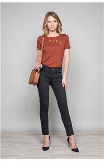 T-Shirt JENNY Femme W19113W (47551) - DEELUXE