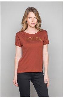 T-Shirt JENNY Femme W19113W (47552) - DEELUXE