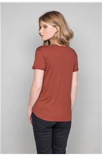T-Shirt JENNY Femme W19113W (47553) - DEELUXE