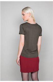 T-Shirt JENNY Femme W19113W (47558) - DEELUXE
