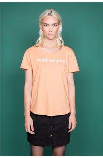 T-Shirt T-Shirt TECA Femme W19111W (47572) - DEELUXE