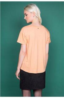 T-Shirt T-Shirt TECA Femme W19111W (47573) - DEELUXE