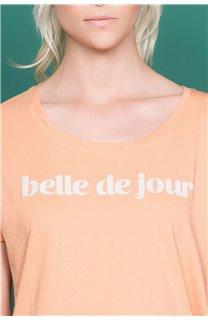 T-Shirt T-Shirt TECA Femme W19111W (47574) - DEELUXE