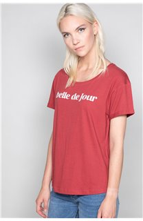 T-Shirt T-Shirt TECA Femme W19111W (47575) - DEELUXE