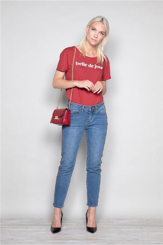 T-Shirt TECA Femme W19111W (47565) - DEELUXE