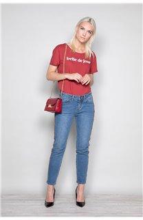 T-Shirt T-Shirt TECA Femme W19111W (47576) - DEELUXE
