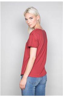 T-Shirt T-Shirt TECA Femme W19111W (47578) - DEELUXE
