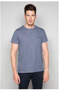 T-Shirt T-SHIRT PASEO Homme W19164 (47633) - DEELUXE