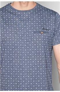 T-Shirt T-SHIRT PASEO Homme W19164 (47635) - DEELUXE