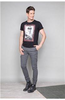T-Shirt T-SHIRT UGGLAN Homme W19125 (47642) - DEELUXE