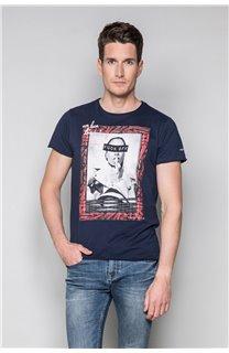 T-Shirt T-SHIRT UGGLAN Homme W19125 (47646) - DEELUXE