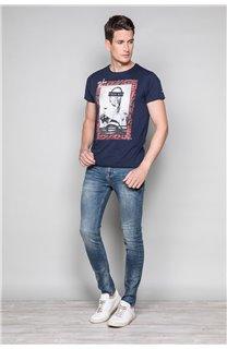 T-Shirt T-SHIRT UGGLAN Homme W19125 (47647) - DEELUXE