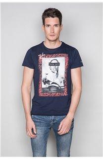 T-Shirt T-SHIRT UGGLAN Homme W19125 (47648) - DEELUXE