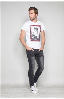 T-Shirt T-SHIRT UGGLAN Homme W19125 (47652) - DEELUXE
