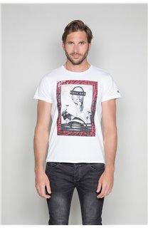 T-Shirt T-SHIRT UGGLAN Homme W19125 (47653) - DEELUXE