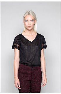 T-Shirt T-Shirt DIVINE Femme W19122W (47656) - DEELUXE