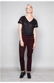 T-Shirt T-Shirt DIVINE Femme W19122W (47657) - DEELUXE