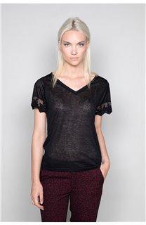 T-Shirt T-Shirt DIVINE Femme W19122W (47658) - DEELUXE