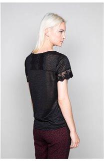 T-Shirt T-Shirt DIVINE Femme W19122W (47659) - DEELUXE