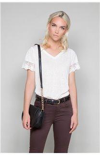 T-Shirt T-Shirt DIVINE Femme W19122W (47661) - DEELUXE