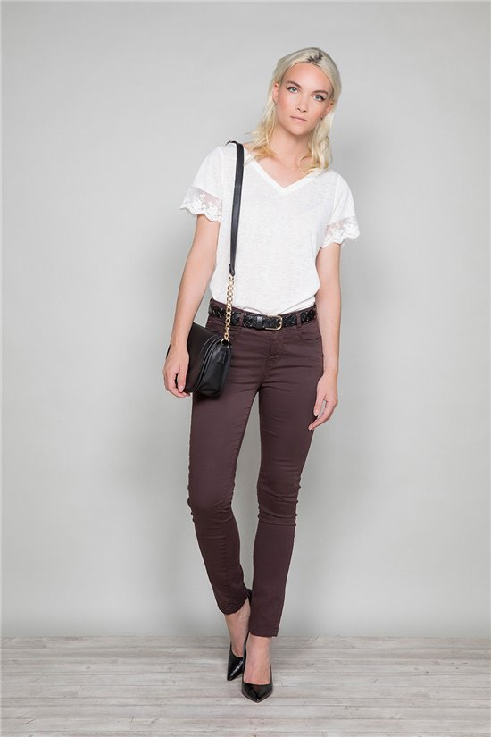 T-Shirt DIVINE Femme W19122W (47661) - DEELUXE
