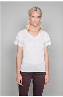 T-Shirt T-Shirt DIVINE Femme W19122W (47663) - DEELUXE