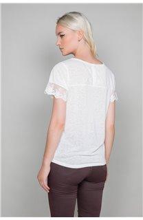 T-Shirt T-Shirt DIVINE Femme W19122W (47664) - DEELUXE