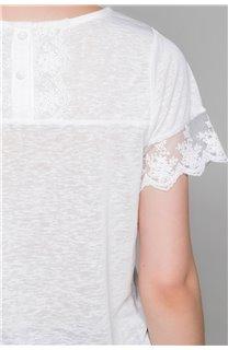 T-Shirt T-Shirt DIVINE Femme W19122W (47665) - DEELUXE