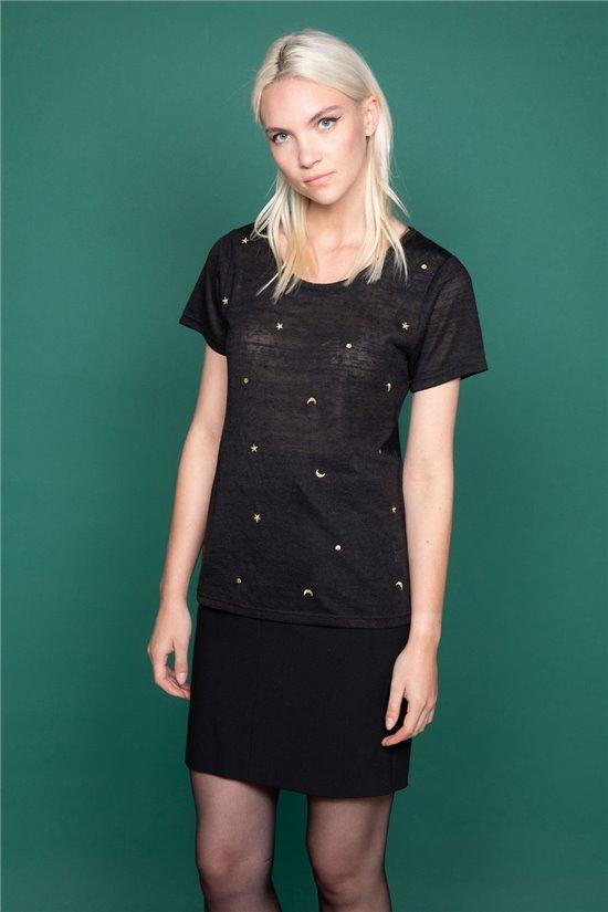 T-Shirt MARCIA Femme W19123W (47666) - DEELUXE