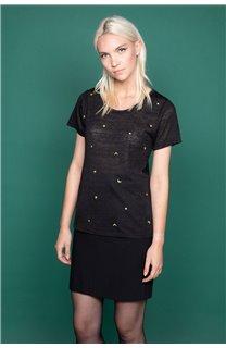 T-Shirt T-Shirt MARCIA Femme W19123W (47666) - DEELUXE